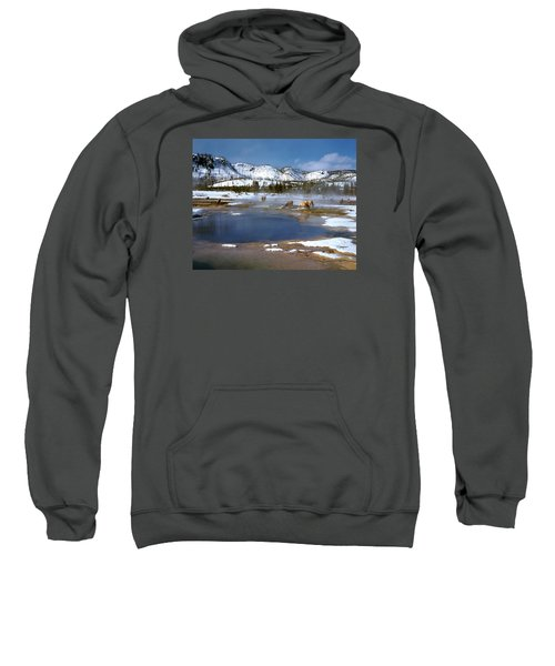 Biscuit Basin Elk Herd Sweatshirt