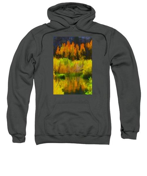 Bishop Creek Aspens Sweatshirt