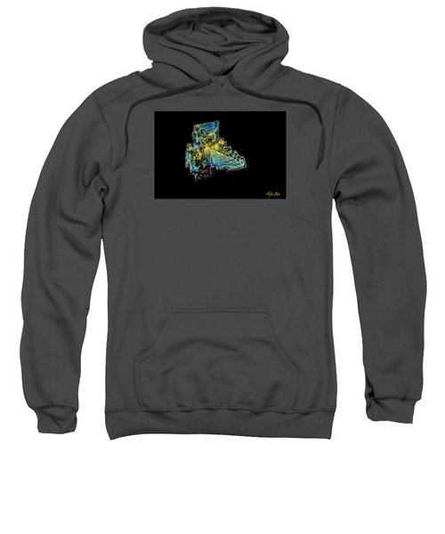 Bismuth Crystal Sweatshirt