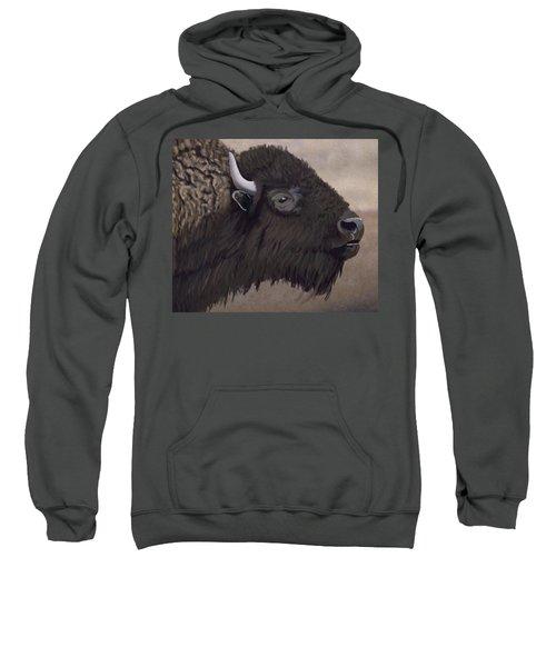Bison Sweatshirt by Jacqueline Barden