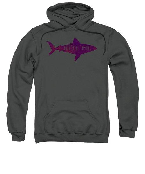 Bite Me Sweatshirt by Michelle Calkins