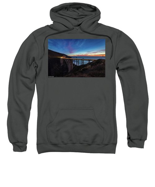 Bixby Bridge Sunset Sweatshirt