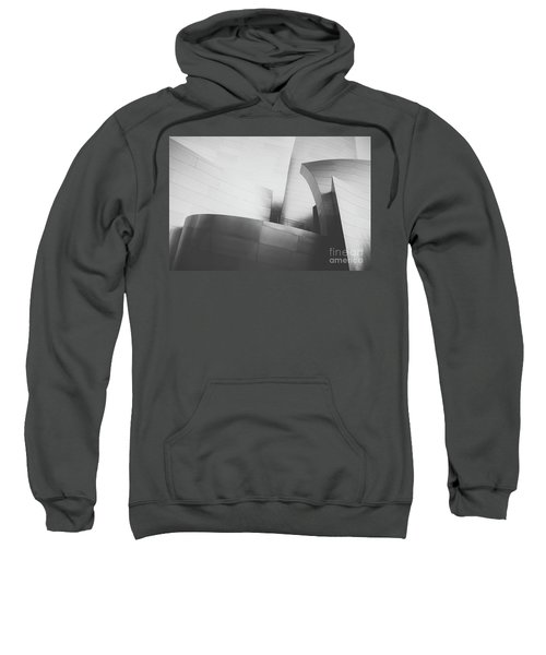 Sweatshirt featuring the photograph Black And White Arcitechture by MGL Meiklejohn Graphics Licensing