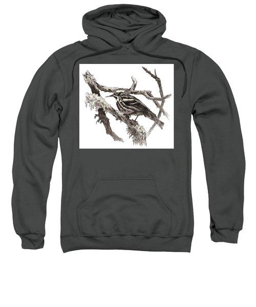 Black-and-white Warbler Sweatshirt