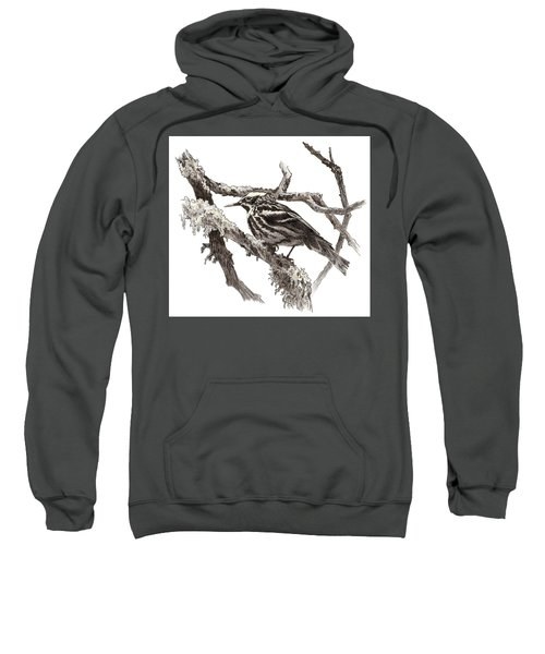Black-and-white Warbler Sweatshirt