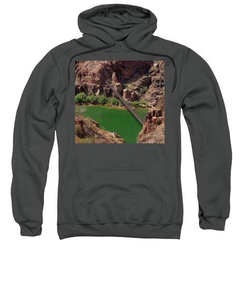 Black Bridge, Grand Canyon  Sweatshirt