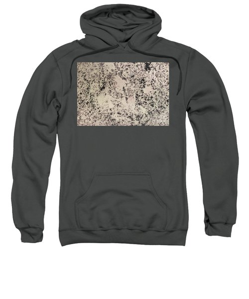 Black Ecru Sweatshirt