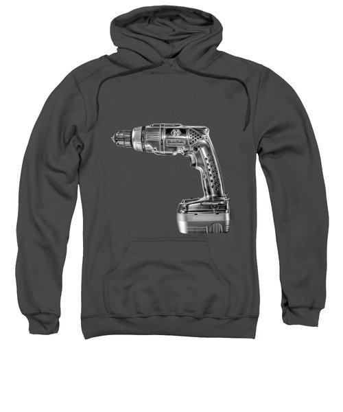 Black N Decker Retro Drill Bw Sweatshirt