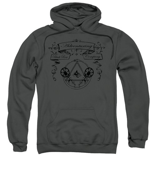 Black Rose Adventuring Co. Sweatshirt by Nyghtcore Studio