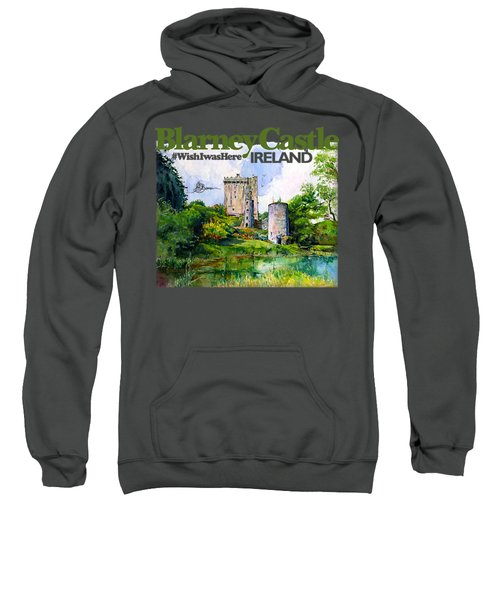 Blarney Castle Ireland Sweatshirt