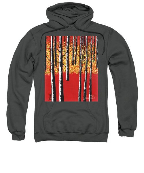 Blazing Birches Sweatshirt