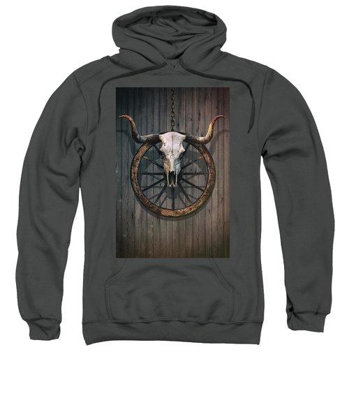 Bloody Bull Skull Sweatshirt
