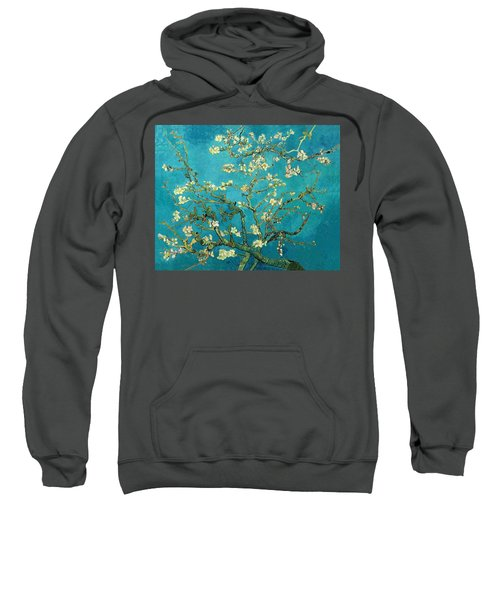 Sweatshirt featuring the painting Blossoming Almond Tree by Van Gogh
