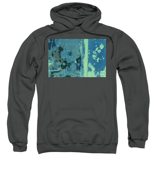 Blue Abstraction Sweatshirt