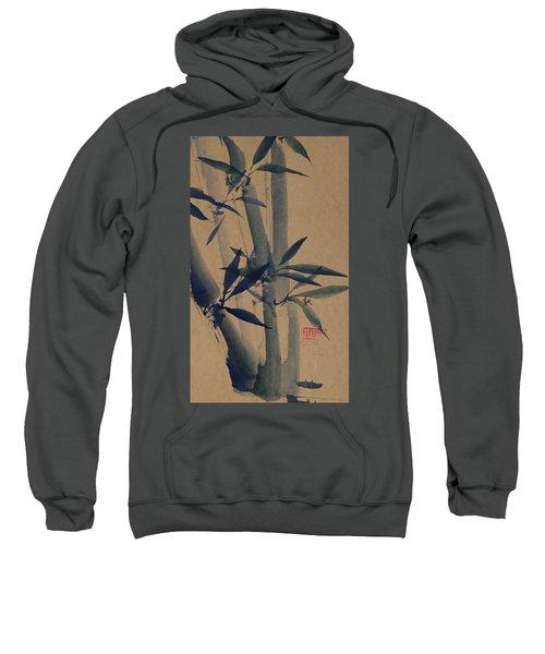 Blue Bamboo Sweatshirt