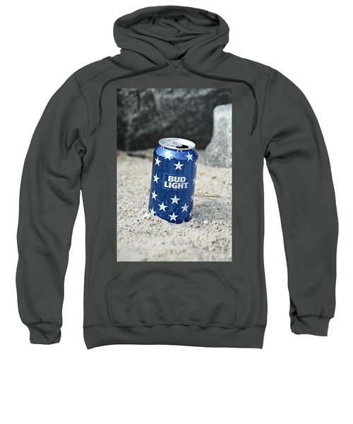 Blue Bud Light Sweatshirt