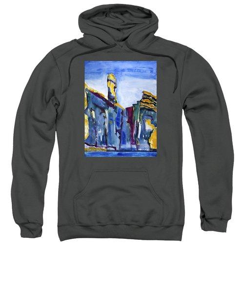Blue Cliffs, Sea And Sky Sweatshirt