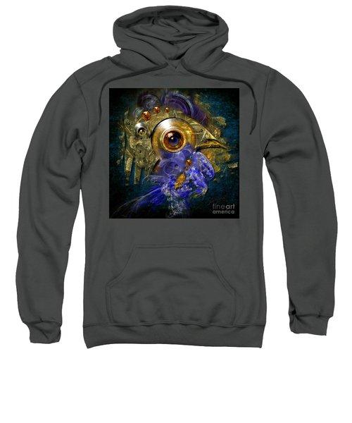 Blue Eyed Bird Sweatshirt