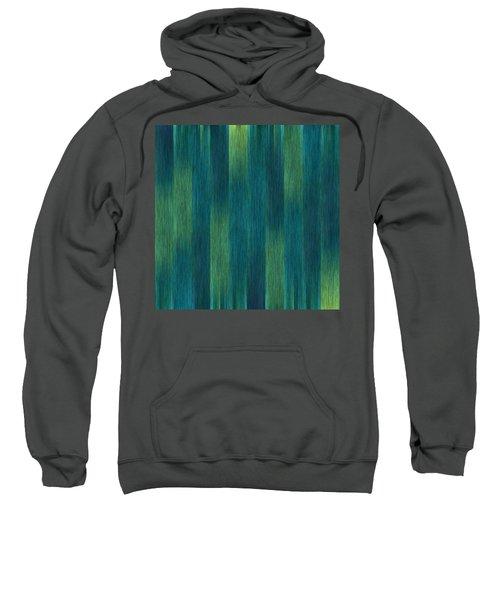 Blue Green Abstract 1 Sweatshirt