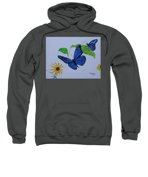 Blue Monarch Sweatshirt