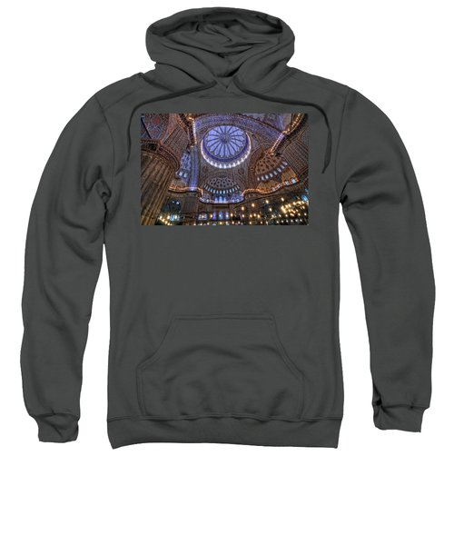 Blue Mosque Sweatshirt