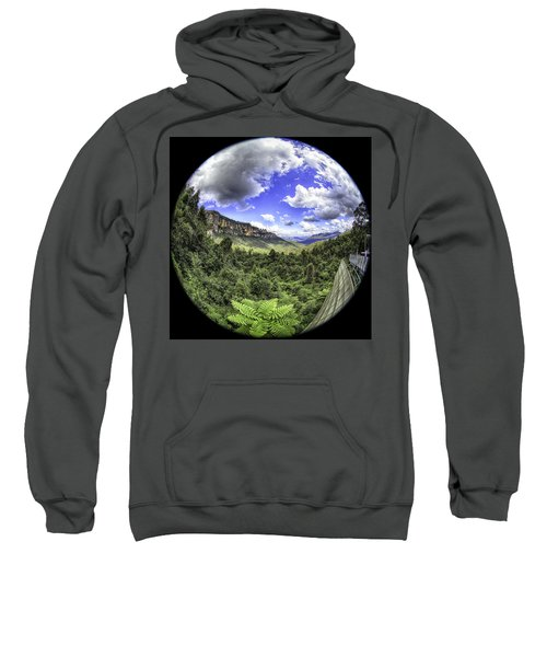 Blue Mountains Fisheye Sweatshirt