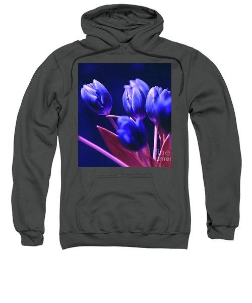 Blue Poetry Sweatshirt