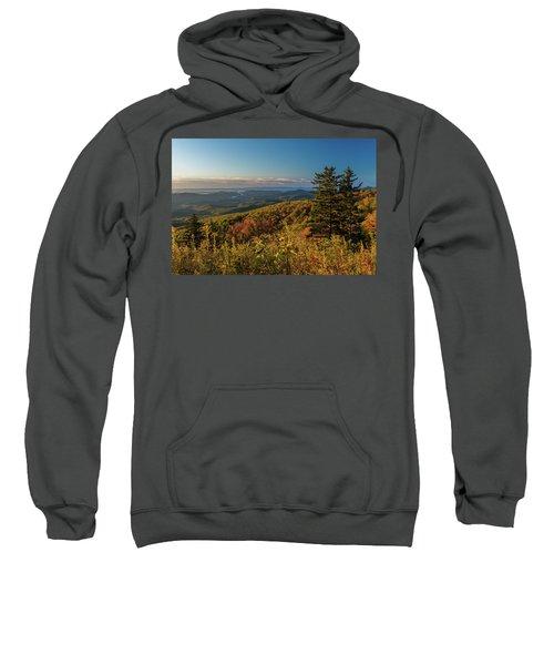 Blue Ridge Mountain Autumn Vista Sweatshirt