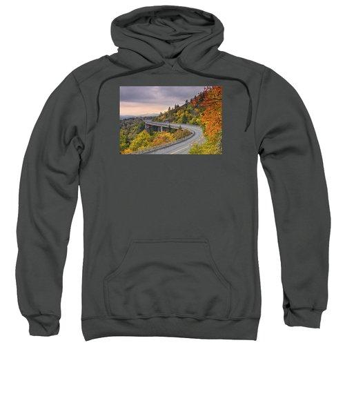 Lynn Cove Viaduct-blue Ridge Parkway  Sweatshirt