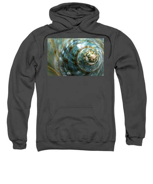Blue Seashell Sweatshirt