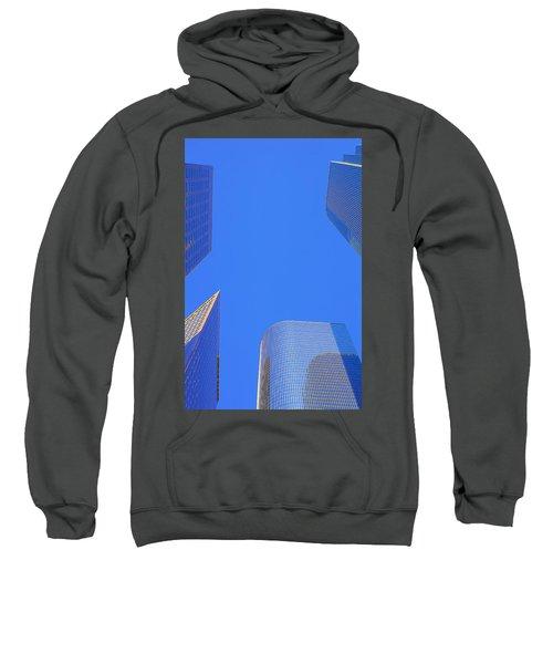 Blue Sky Over Bunker Hill Sweatshirt