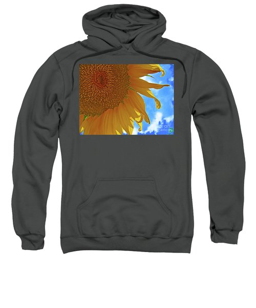 Blue Sky Sunflower Sweatshirt