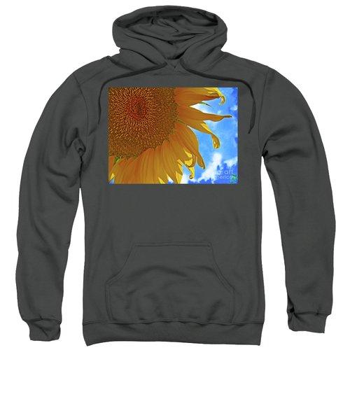 Blue Sky Sunflower Sweatshirt