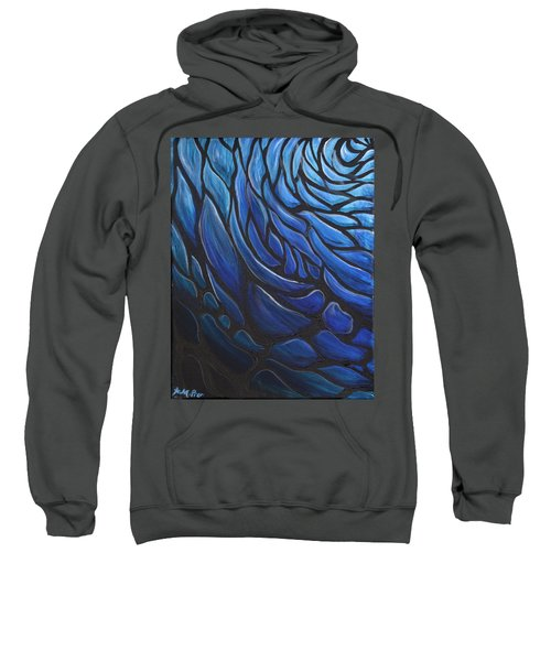Blue Stained Glass Sweatshirt