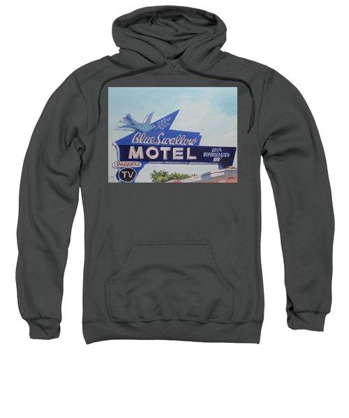 Blue Swallow Sweatshirt