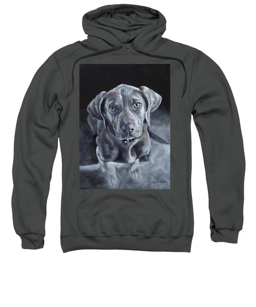 Blue Weimaraner Sweatshirt