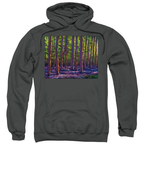 Bluebells And Forest Sweatshirt