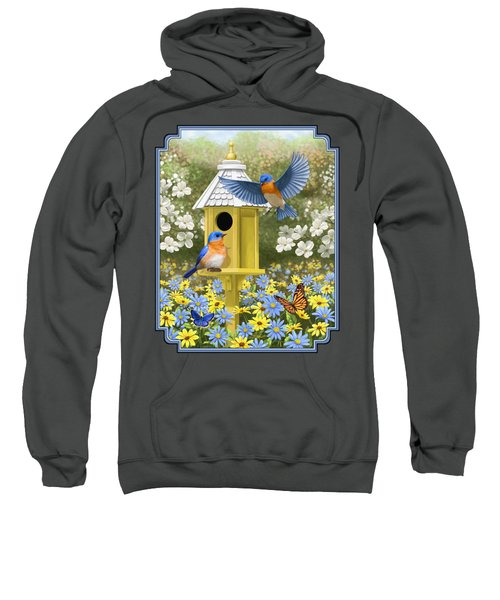 Bluebird Garden Home Sweatshirt