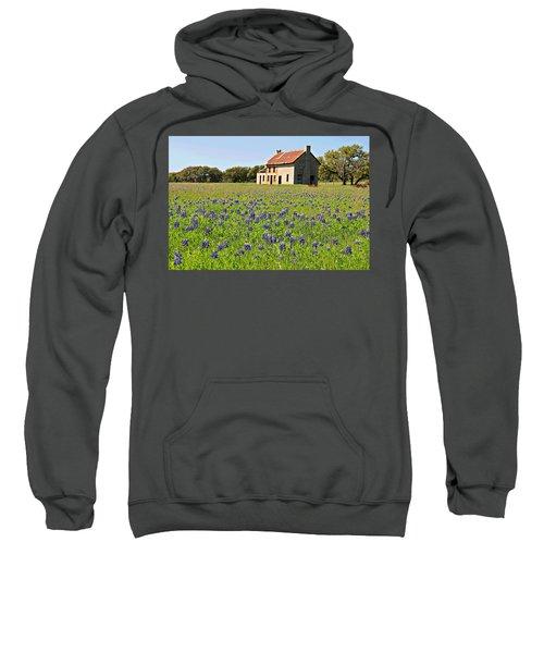 Bluebonnet Field Sweatshirt