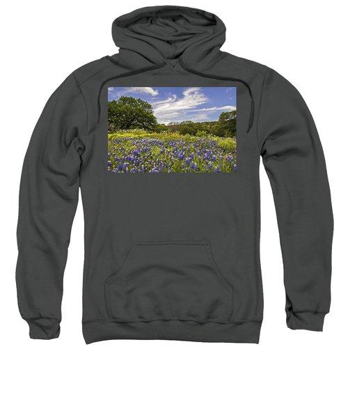 Bluebonnet Spring Sweatshirt