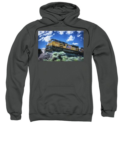 Blurred Rails Sweatshirt