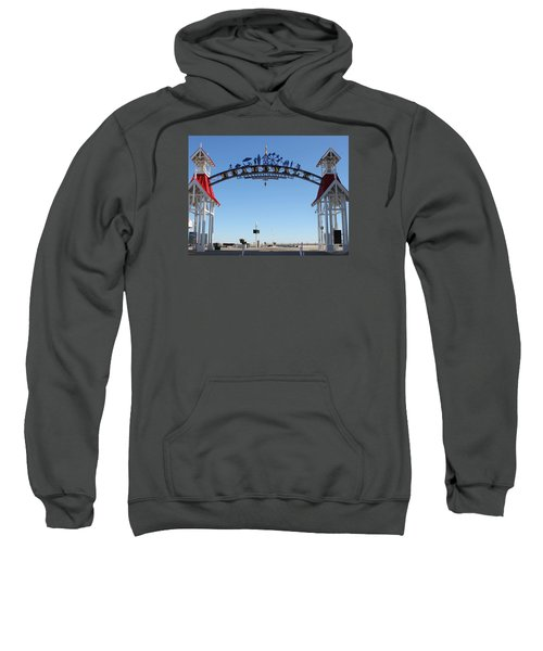 Boardwalk Arch At N Division St Sweatshirt