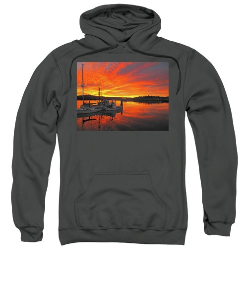 Boardwalk Brilliance With Fish Ring Sweatshirt