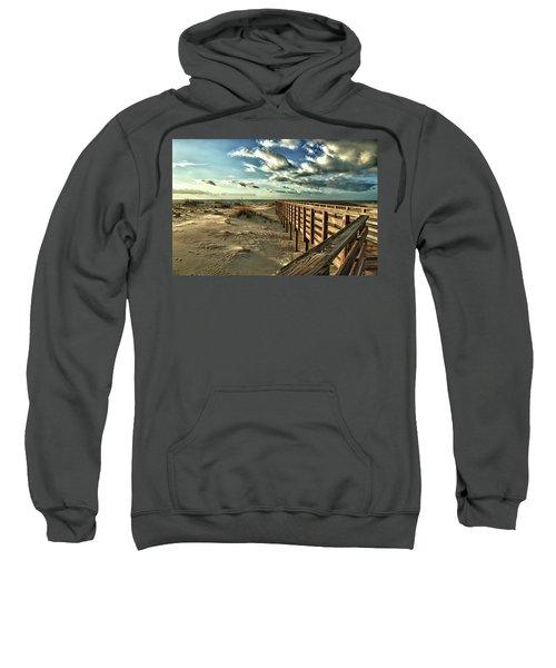 Boardwalk On The Beach Sweatshirt