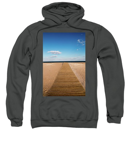 Boardwalk To The Ocean Sweatshirt