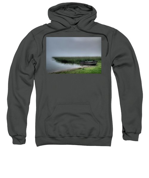 Boat In The Fog Sweatshirt