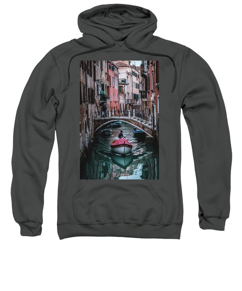 Boat On The River Sweatshirt
