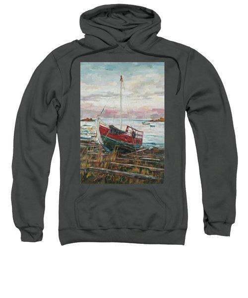 Boat On The Shore Sweatshirt