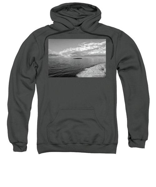 Boat Wake On Florida Bay Sweatshirt