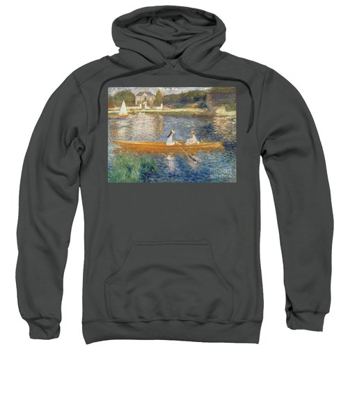 Boating On The Seine Sweatshirt